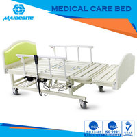 Good quality hospital family bed with Abs headboards for patient