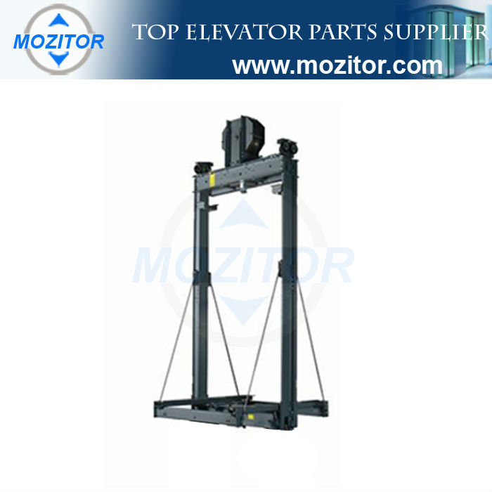 Passenger elevator parts|Elevator car frame for elevator 2:1| manufacture lift parts