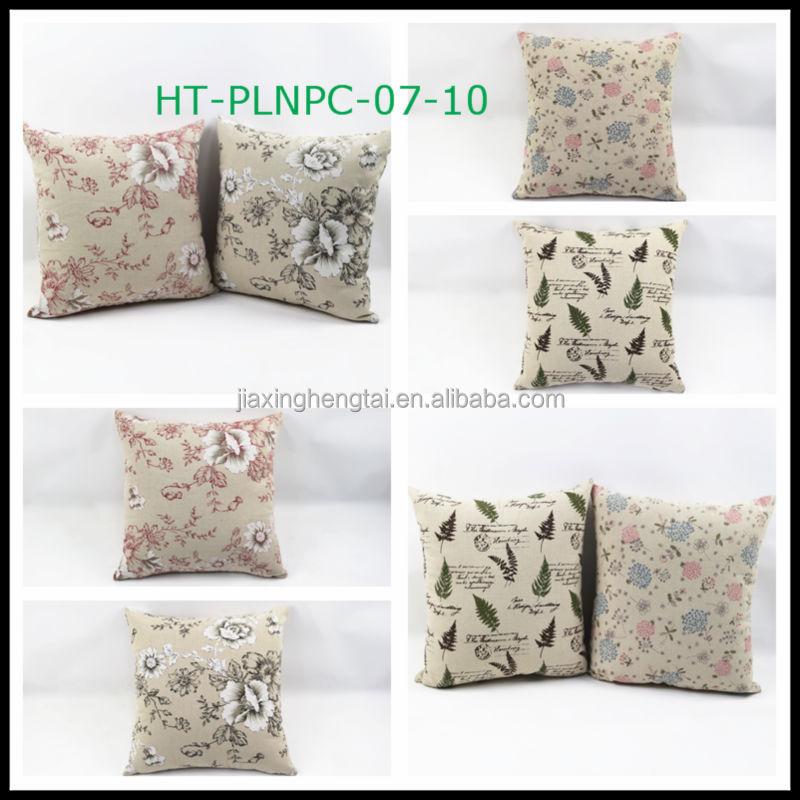 Christmas Cushions Large Sofa Cushion Custom Linen Print Whole Throw Pillows Decorative