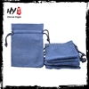 Soft fashion girls jewelry canvas cotton bags with high quality