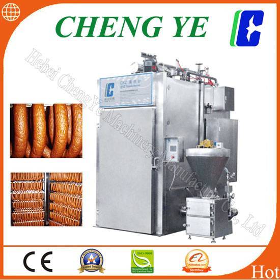 Industrial meat smokehouse equipment for sale, QXZ1/1 Smokehouse