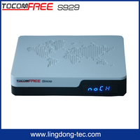 controle tv box tv azbox bravoo hd satellite receiver tocomfree S929 iptv , free iks sks for south america