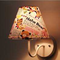 kids wall bracket wall light bedroom lamp