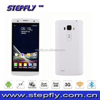 5.0 inch 3G Mobile Phone QHD capacitive touch screen MTK6572 Dual Core Android 4.4 WIFI Bluetooth smart phone G4