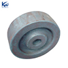 Industrial forged small steel aluminum crane wheel
