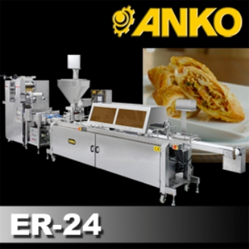Anko Extrusion Frozen Snack Automatic Egg Roll Making Machine