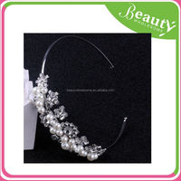 thick knit rhinestone headband AD016 fashion headband
