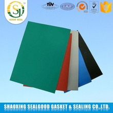Acid and alkali resistant abrasion rubber sheet roll