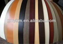 PVC plastic 3mm edge banding with furniture