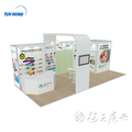 Detian offer 4x9m Advertising Booth Stand Exhibition Equip Modular Trade Show Display