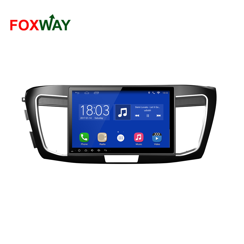 4G LTE android car dvd player for Honda Accord 9 with good price