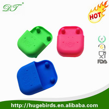 Promotional Hippo Shaped Silicone Cell Phone Speaker/ Amplifier