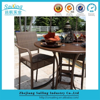 Sailing Modern Style Havana Roots Rattan Outdoor Led Lounge Furniture