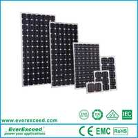 EverExceed Factory Poly solar panel 5w 20w 30w 40W 50 w 100 W 150W 200 w 250w 260 W 300w 310 W 1kw