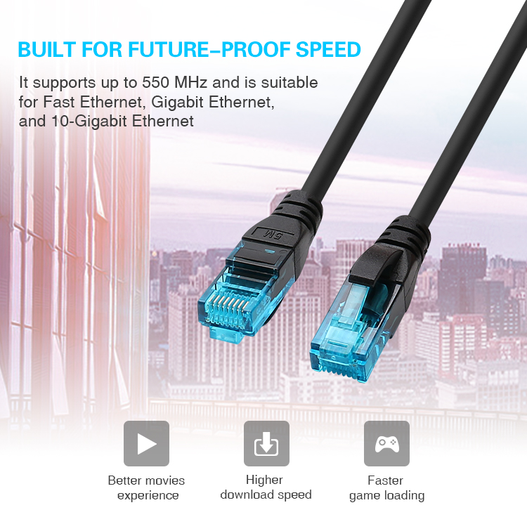 direct factory supplier of fire resistant utp cat5e cat 5e cat6 cat7 network lan cable