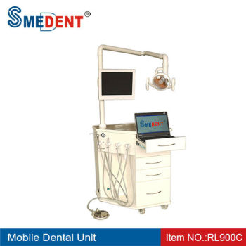 New Mobile Dental Unit with Light&Screen RL900C/Dental Supply