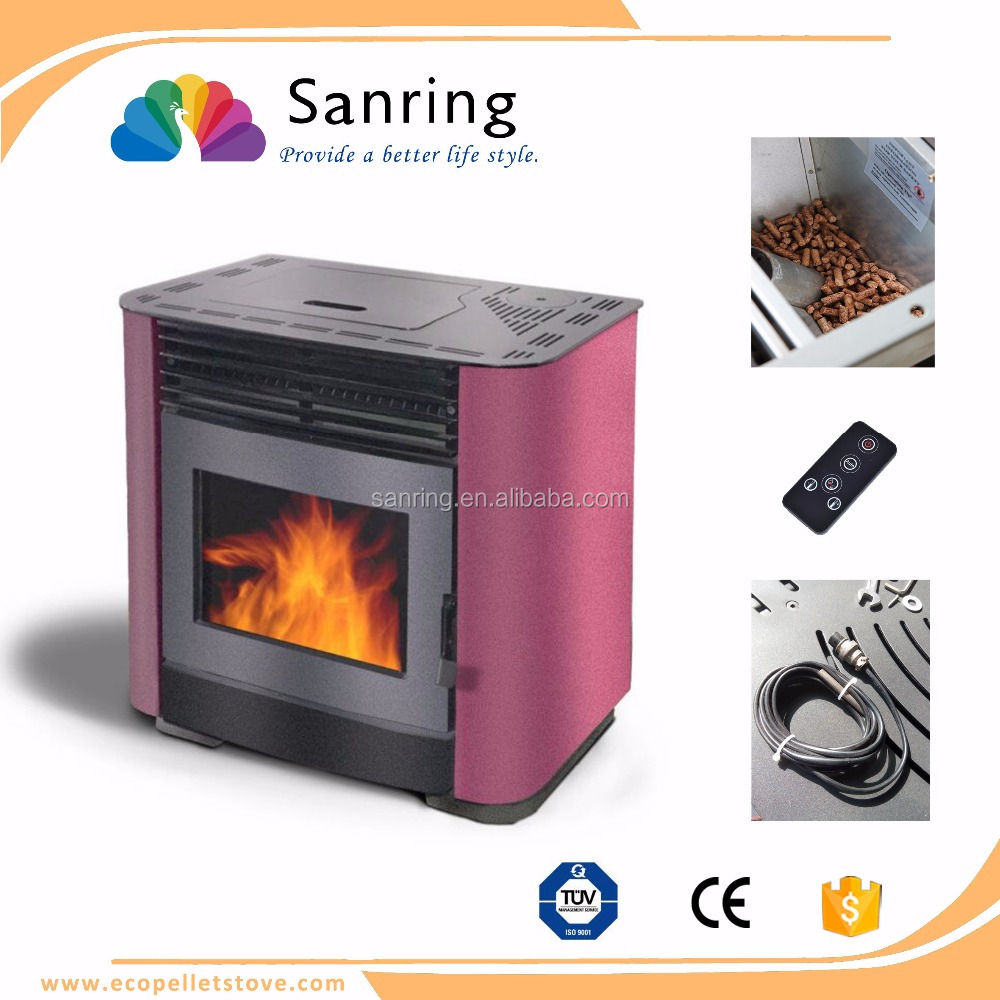 Biomass European style cast iron pellet stove from Greece