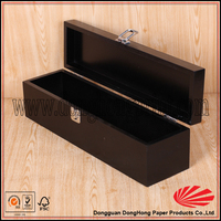 Vertical design professional made wood packaging wine gift box