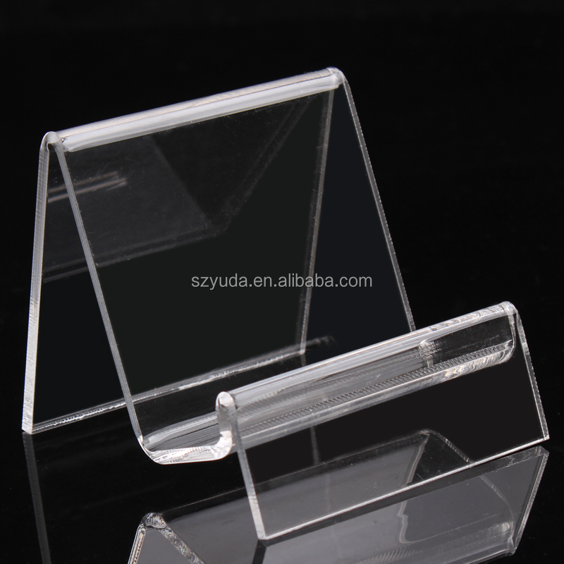 Single One Perspex Digital Camera Stand Display Lens Clear Heat Bending Acrylic Customized Camera Display Stand For Digital Shop
