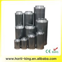 "99.9% Efficiency Activated Carbon Bed Filter 4""-14"" Inch"