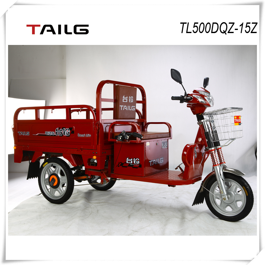 tailg/tailing 3 wheel electric tricycle with 60v battery pack electric vehicle for sales TL500DQZ-15Z