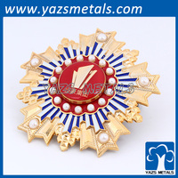 custom security pin button badge