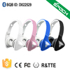 New design bluetooth CSR4.0 wireless stereo bluethooths headset