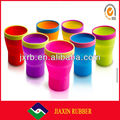Hot sale! kinds of good quality silicone collapsible drinking cup