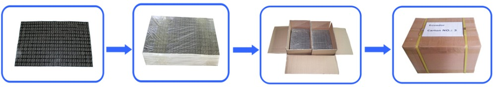 FREE samples 5mm dual color 5x7 dot matrix led dot matrix display