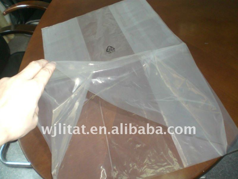 HOT sale PE plastic custom size and thick transparent polyethylene bags