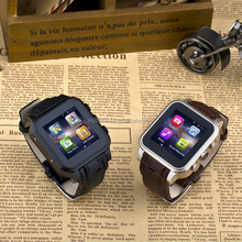 Hot sell mobile smart phone watch Android 4.4 GSM wifi smart watch bluetooth 3G MTK6572 Dual core 1.3GHz GPU