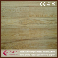 White oak laminate wall baseboard