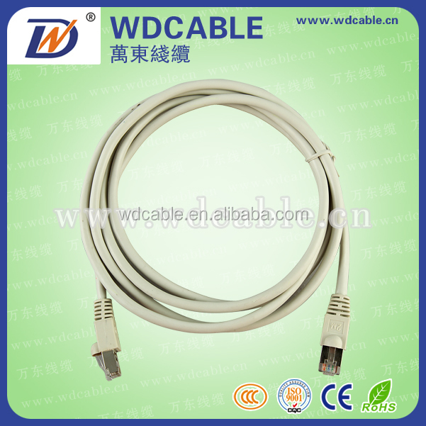 Cat6 UTP/FTP/SFTP PATCH CORD / Ethernet Network with Plain Molded Boot
