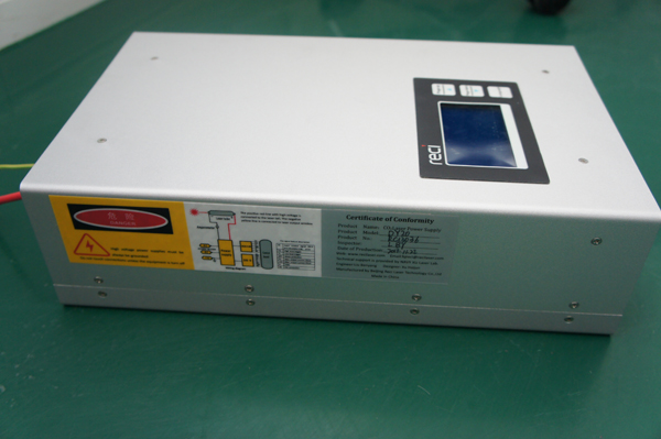 lcd display atx computer case with power supply