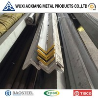 Hot Selling 201202 304 321 316l 2205 Stainless Steel Angle Bars/ angle steel bar