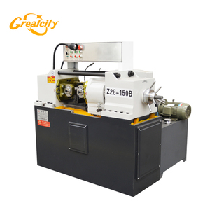 Factory direct sale Automatic Steel rod electric pipe threader /thread rolling machine price