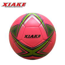 Logo Customized PVC Material thermal bonded soccer ball