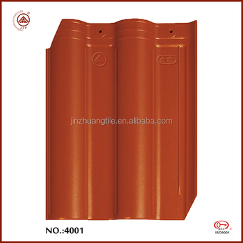 Hot Sale top grade Villa Ceramic Glazed Roof Tiles