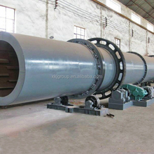 Professional stainless continuous oil palm fiber rotary dryer with cheap price