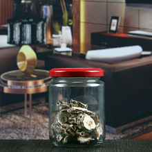 Promotion Mini Round Glass Jar For Candy