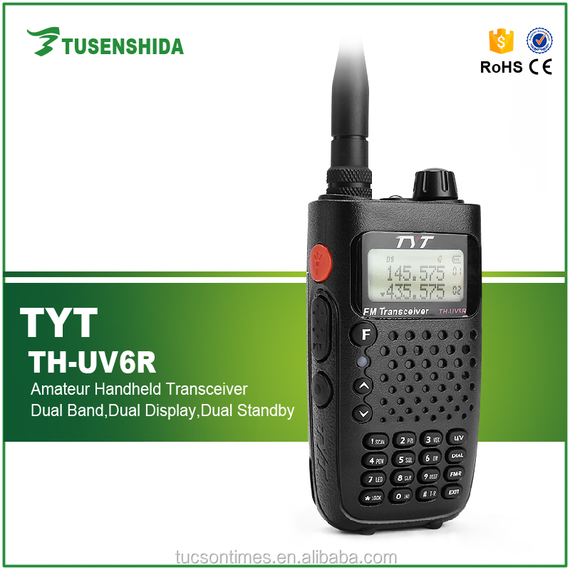 TYT handheld two way radio for military and police TH-UV6R