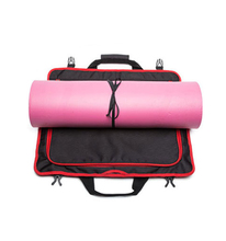 Extra Thick Canvas Recycled Yoga Duffle Mat Bag