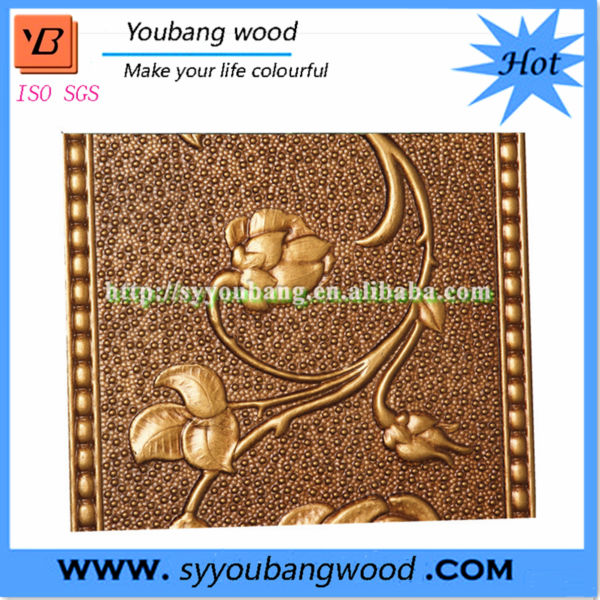 3D Panels MDF Wall Cladding Embossed Board