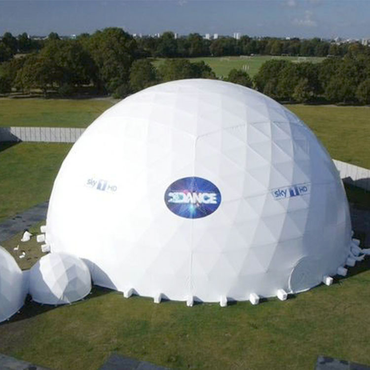 Modern design movable canopy geodesic dome tents for sale