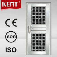 Modern Main Door Design Stainless Steel Exterior Security Storm Door