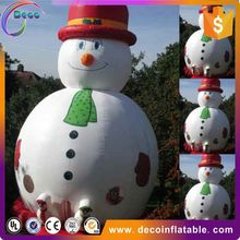 Small inflatable santa claus olaf inflatable snowman for House Decoration