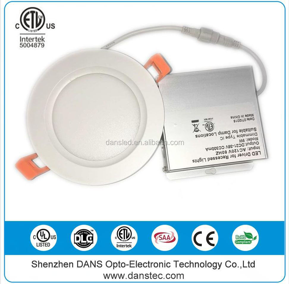 CSA UL 4 inch led lights recessed ceiling