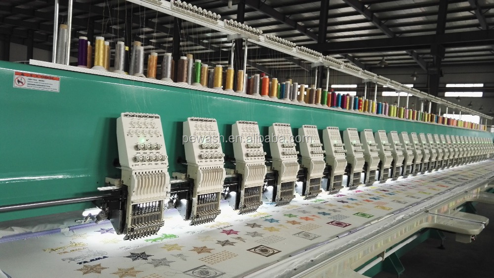 Tajima Flat Embroidery Machine