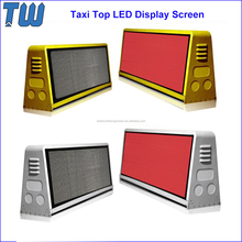 SMD2727 RGB Taxi Roof LED Advertising Display Screen Waterproof and Shockproof
