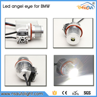 New car accessory led headlight angel eyes E39 40W led marker angel eyes for BMW auto part led ring light fog lamp